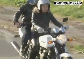japanese biker babes show the world how loose